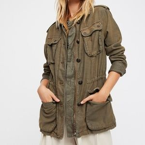 Free People Not Your Brother's Surplus Jacket